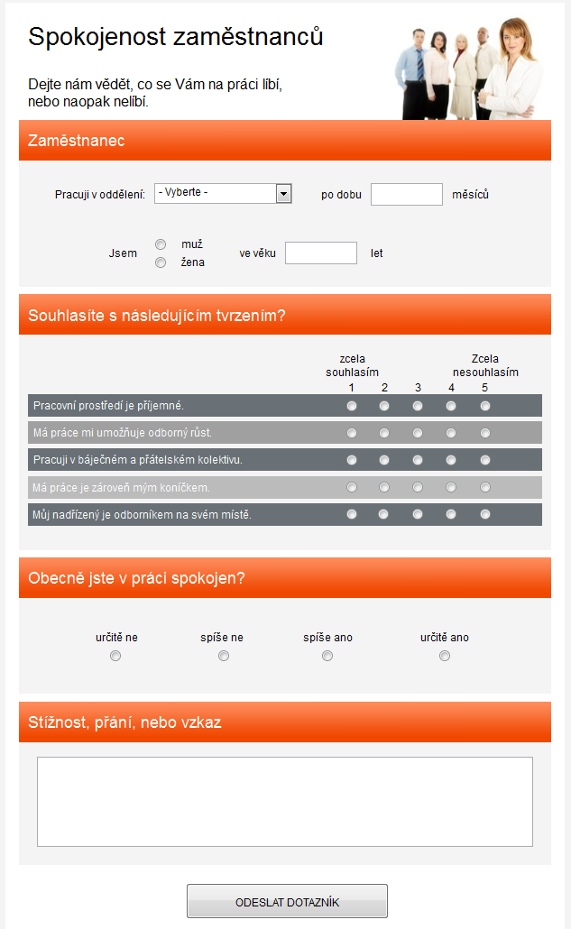 create online research form free template